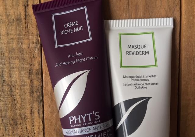produits de soin de beauté phyts