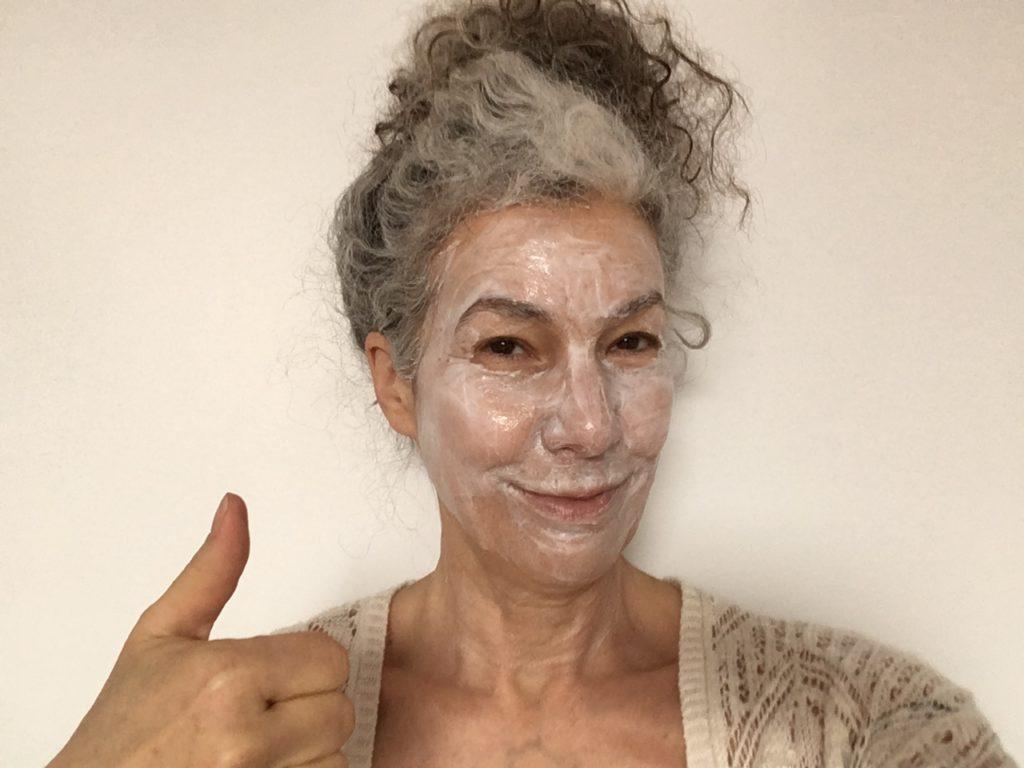 marie g, je reste chez moi et je porte le bon masque, masque de beauté visage masque hydratant, nourrissant